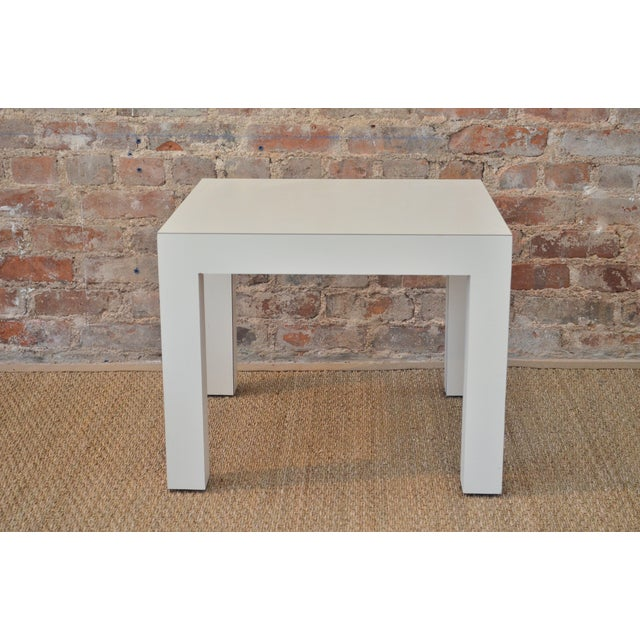 Vintage Parsons Side Table - Image 2 of 5