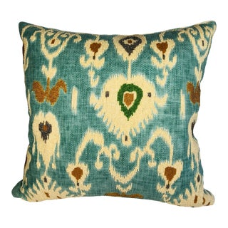 French Jewel in the Crown Queen Pillow For Sale