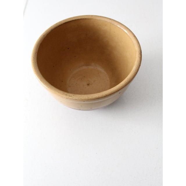 Vintage Watt Pottery Yellow Ware Bowl - Image 5 of 7