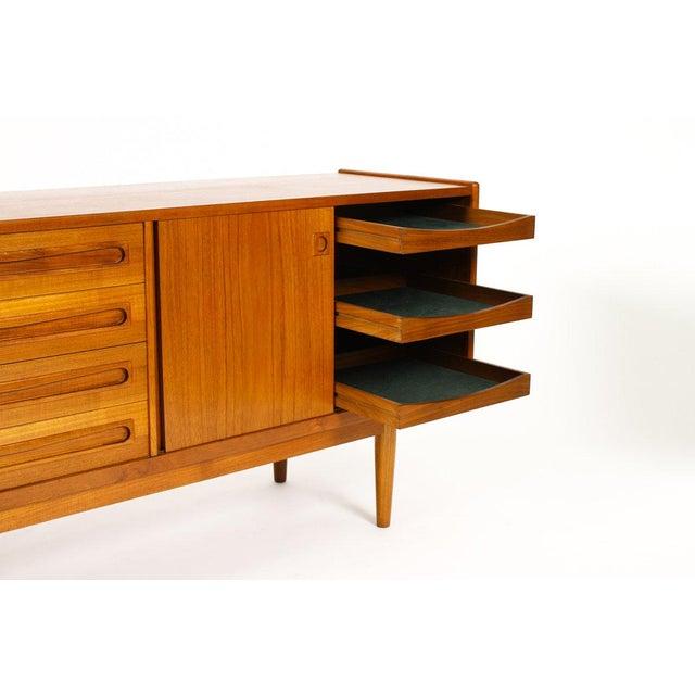 Wood 1960s Scandinavian Jens Ærthøj Teak Credenza/Sideboard For Sale - Image 7 of 11
