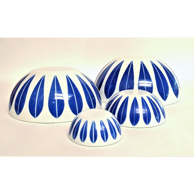 Catherineholm Blue and White Nesting Bowls - Set of 4 For Sale In Miami - Image 6 of 10
