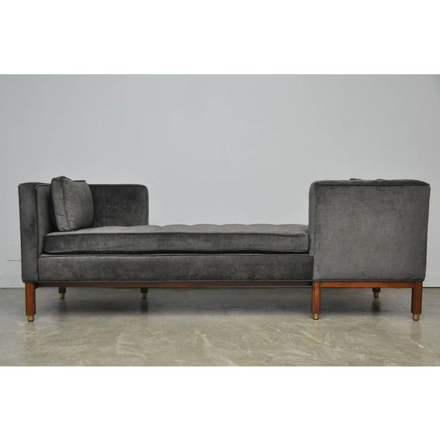 Dunbar Tete-a-tete Sofa by Edward Wormley - Image 3 of 7