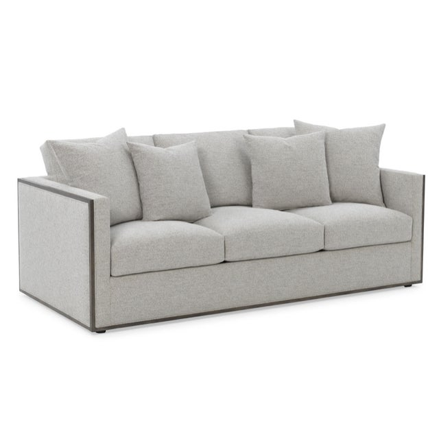 Rene Cazares Furniture Woody Upholstered Sofa For Sale - Image 11 of 13