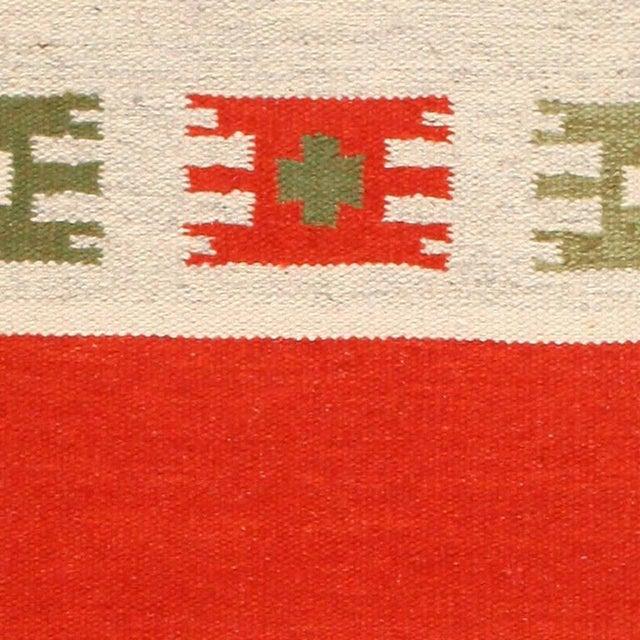 Mid-Century Modern Vintage Swedish-Scandinavian Wool Rug - 4′6″ × 6′4″ For Sale - Image 3 of 7