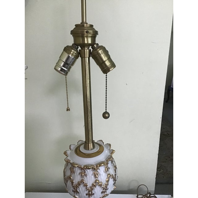 Neoclassical French Neoclasscal Blanc De Chine Porcelain Lamp For Sale - Image 3 of 8