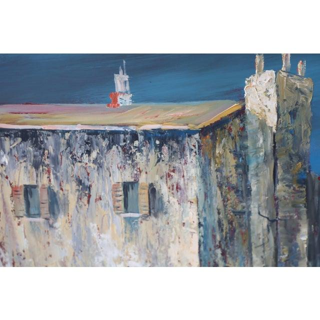 Italian Scene Painting Signed Donati For Sale - Image 4 of 9