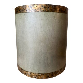 Large Vintage Brutalist Style Lampshade For Sale