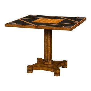 Regency Walnut Games Table For Sale