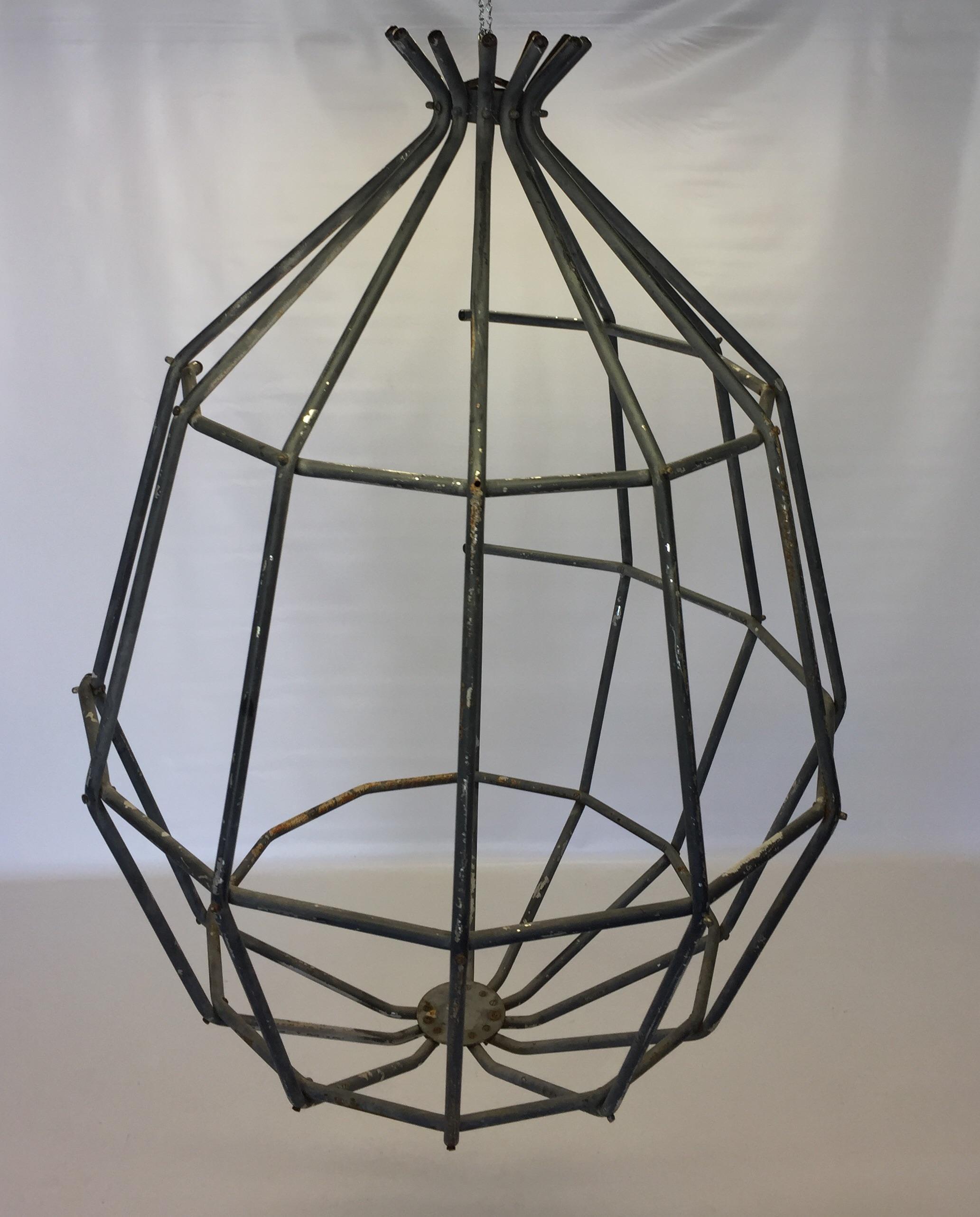 Beau Vintage Arberg Hanging Cage Basket Chair   Image 3 Of 8