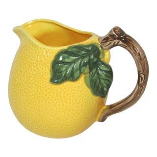 1970s Vintage Lemon Pitcher For Sale