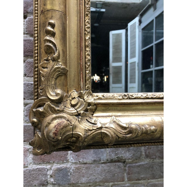 Special 19th Century Mirror From the South of France For Sale - Image 4 of 12