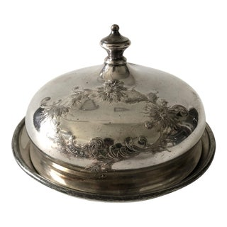Reed & Barton Silver Plated Butter Dish