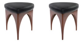 Image of Danish Modern Ottomans and Footstools