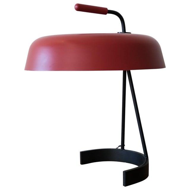 Modernist European Desk Lamp, 1950s For Sale - Image 11 of 11
