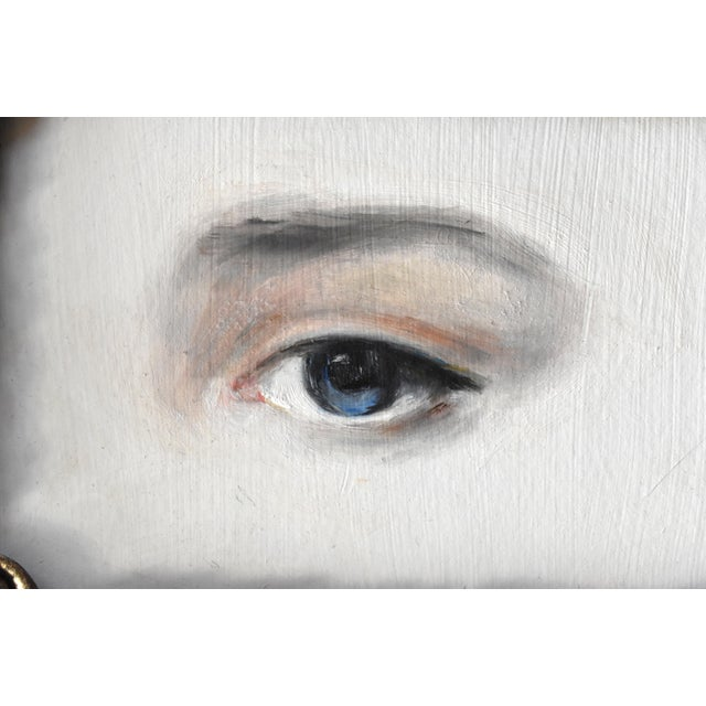 Contemporary Contemporary Lover's Eye Painting by Susannah Carson For Sale - Image 3 of 6