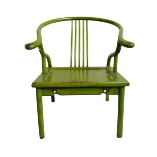 Green Ming Chair For Sale