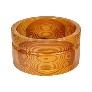 Wood Serving Bowl by Stig Johnsson For Sale