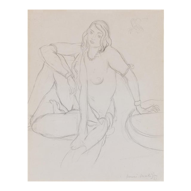 Femme Nue Assise By Henri Matisse - Image 1 of 5
