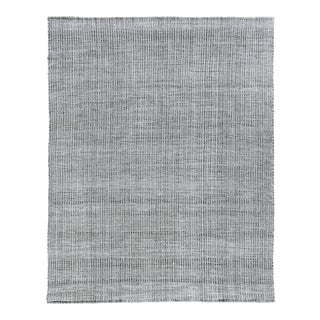 Exquisite Rugs Whitney Handwoven Wool & Viscose Gray - 9'x12' For Sale