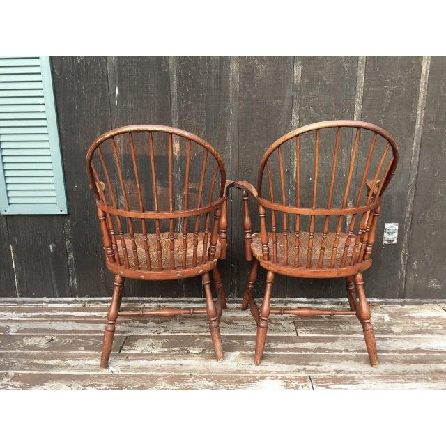 1920s Barnard & Simonds Co. Chairs - Set of 4 - Image 4 of 11