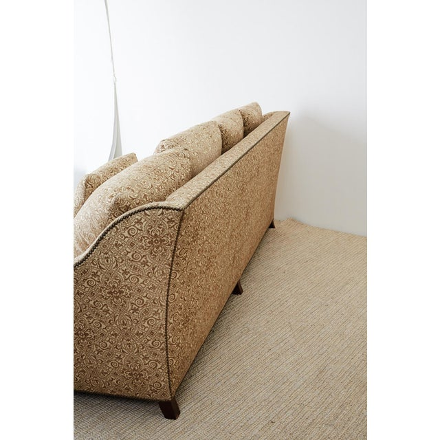 Jonas New York Bruxelles Four Seat Upholstered Sofa For Sale - Image 12 of 13