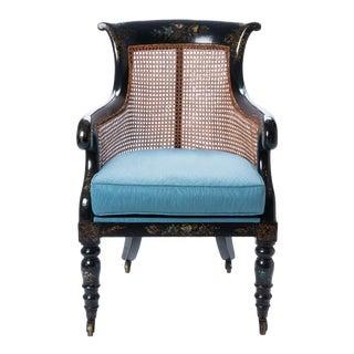 William IV Mahogany Frame Gondola Chair For Sale