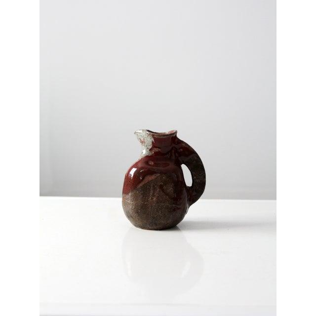 Mid-Century Studio Pottery Pitcher - Image 3 of 7