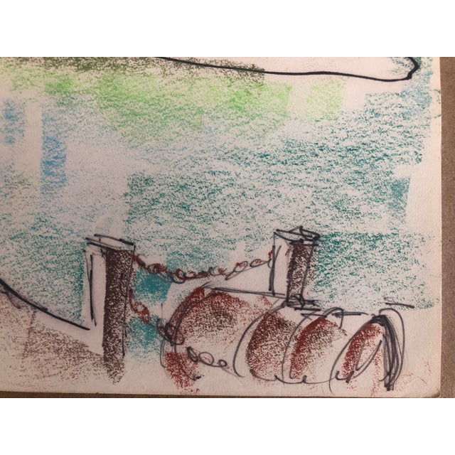 From a sketchbook by an unknown artist including paintings of Florida, North Carolina and Pawley's Island, South Carolina....
