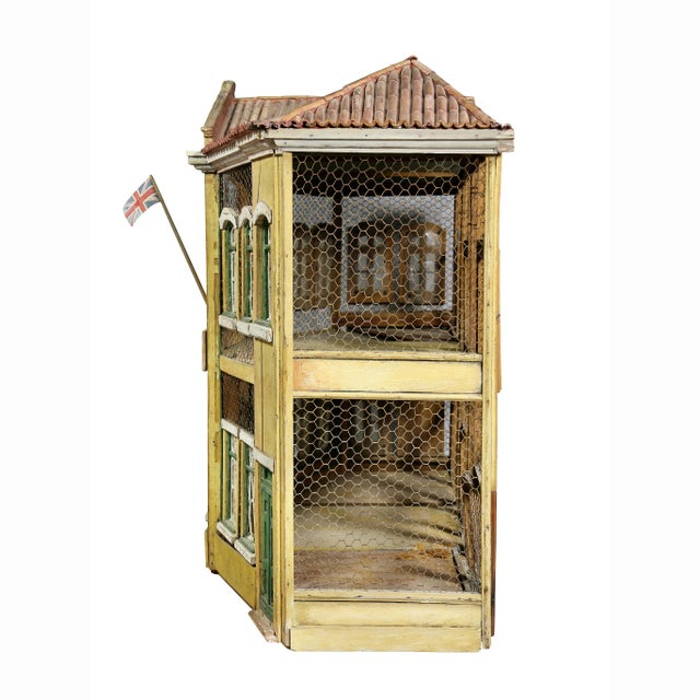 Early Victorian Painted Birdcage For Sale In Boston - Image 6 of 8