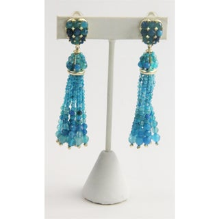 Kendra Scott Cecily Turquoise Blue Gemstone Earrings Preview