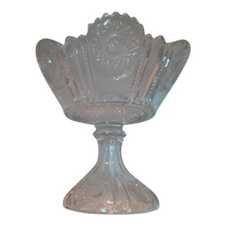 Early 20th Century Cut Glass Epergne Centerpiece From New York Collection For Sale