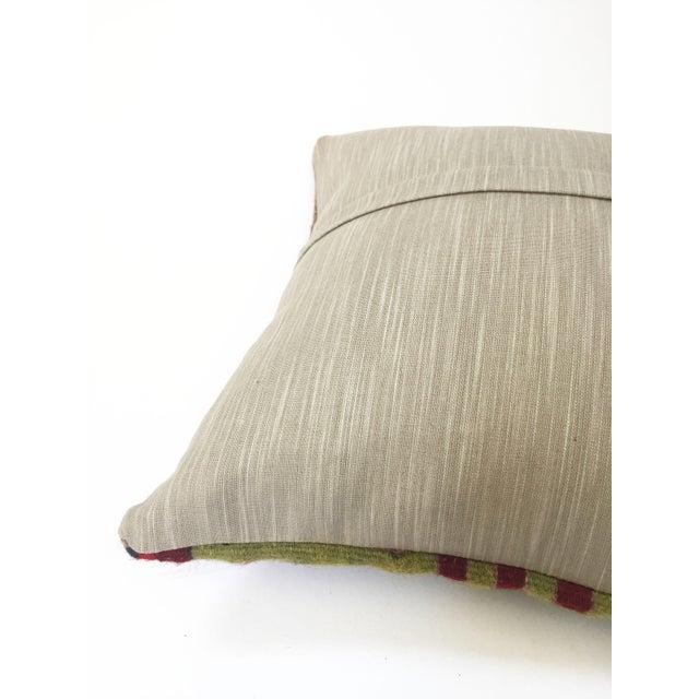 Vintage Kilim Square Pillow - Image 5 of 5