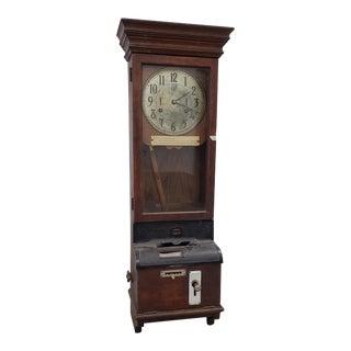 "Vintage ""International Time Recording"" Time Clock C.1930s For Sale"