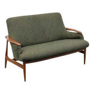Sofa or Loveseat in Manner of Finn Juhl