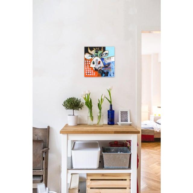 "Canvas Pop Art ""This Week"" Original Artwork by Fredi Gertsch For Sale - Image 7 of 9"