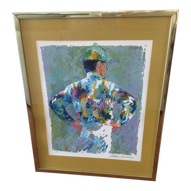 'The Jockey' LeRoy Neiman Serigraph - Image 1 of 3