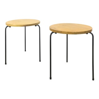 1950s Luther Conover Style Stacking End Tables - a Pair