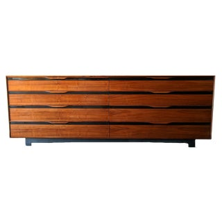 Stunning Mid Century Walnut Dresser by John Kapel for Glenn of California
