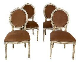 Image of Neoclassical Dining Chairs