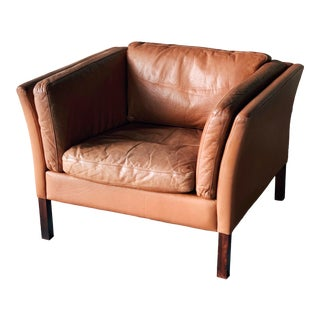 Stouby Leather Chair For Sale