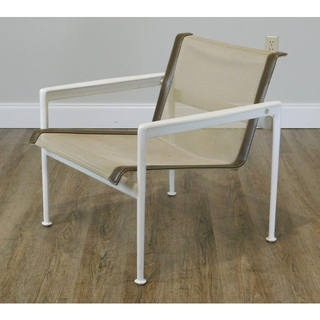 Knoll Knoll Richard Schultz 1966 Patio Lounge Chair with Arms For Sale - Image 4 of 13