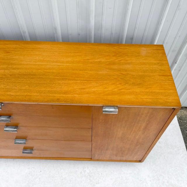 Wood George Nelson Bcs Primavera Dresser for Herman Miller For Sale - Image 7 of 13