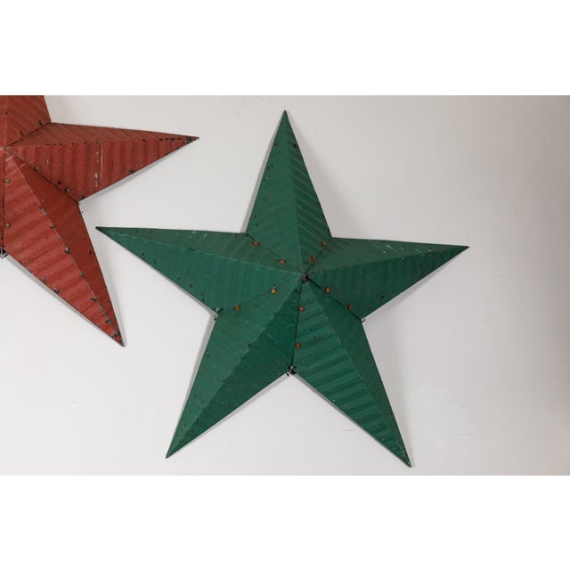 Boho Chic Large Amish Barn Stars For Sale - Image 3 of 8