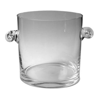 1980s Vintage Tiffany Ice Bucket For Sale