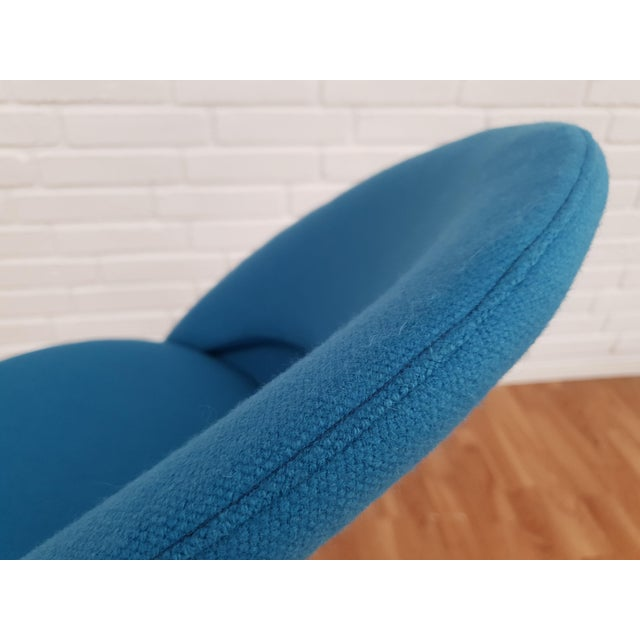 """Blue 1970s Vintage Verner Panton """"Cone"""" Chair For Sale - Image 8 of 13"""