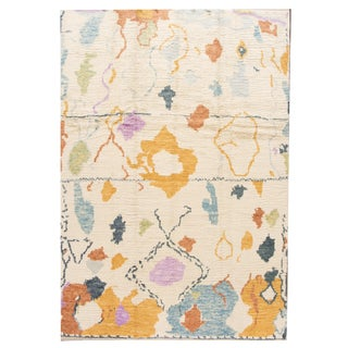 "Modern Moroccan Style Rug, 8'8"" X 12'6"""