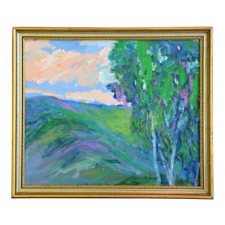 "Original Juan ""Pepe"" Guzman, Ojai California Landscape Oil Painting For Sale"