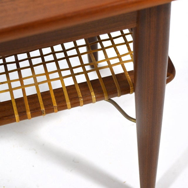 Danish Teak Extension Coffee Table For Sale - Image 9 of 13