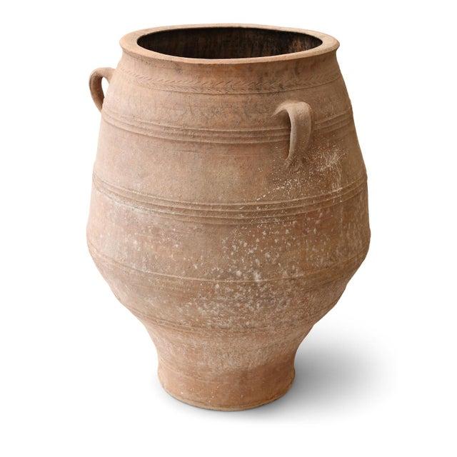 Ceramic Antique Greek Olive Jar For Sale - Image 7 of 12