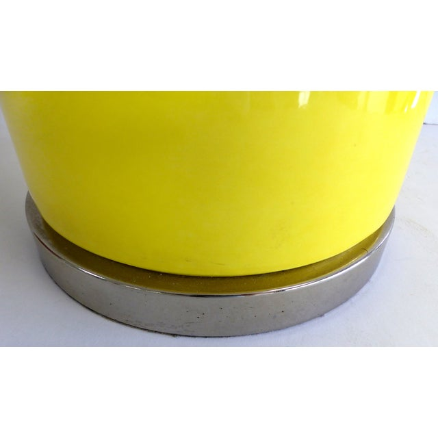 Pierre Cardin Style Glass Table Lamp - Image 5 of 7